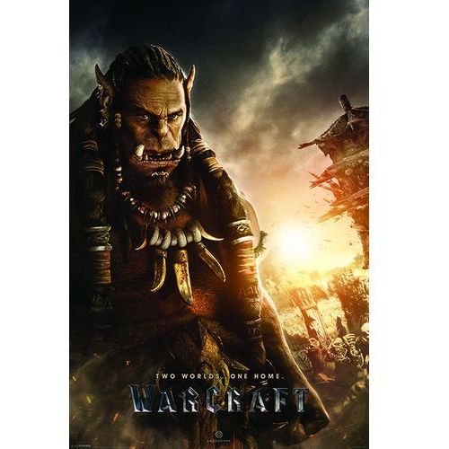 Gf Warcraft two worlds, one home - durotan - plakat