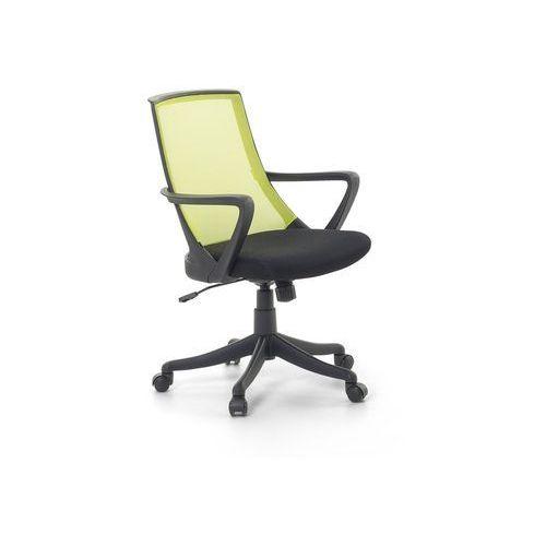 Krzesło biurowe zielone - fotel biurowy obrotowy - meble biurowe - ERGO (7081453543125)