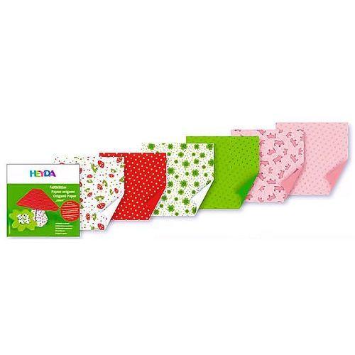 Papier do origami 10x10cm  symb szczęścia x30 marki Heyda