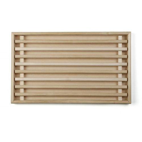 Deska drewniana do krojenia z wyjmowanym wkładem, wymiary 50x30x3,5 cm, EXXENT 78537