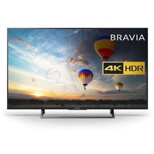 TV LED Sony KD-49XE8005. Najniższe ceny, najlepsze promocje w sklepach, opinie.