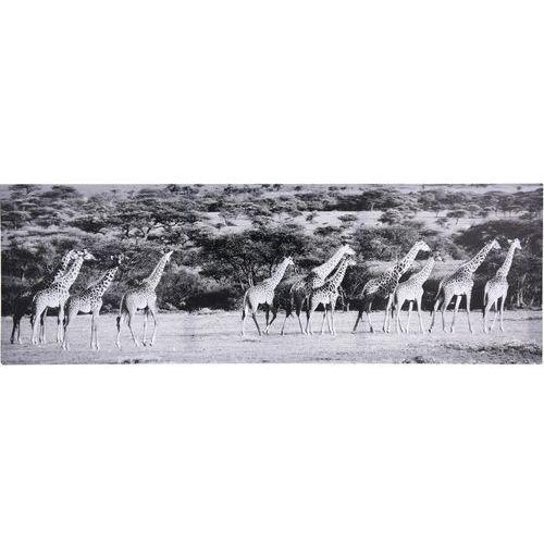 4home Obraz żyrafa 30 x 90 cm