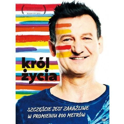 Agora Król życia (dvd + książka) - jerzy zieliński (9788326823220)
