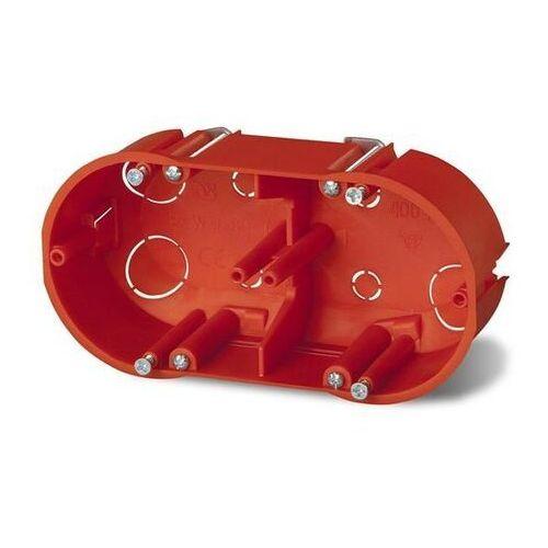 Puszka podtynkowa 60 podwójna do karton-gipsu 0210-00 pomarańczowa Elektro-Plast