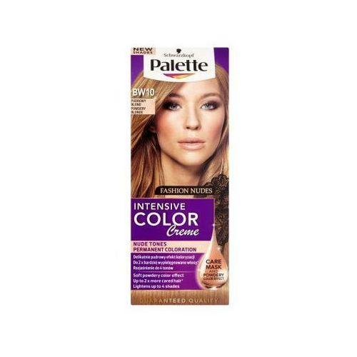 Farba do włosów Palette Intensive Color Creme Pudrowy blond BW10, kolor Farba