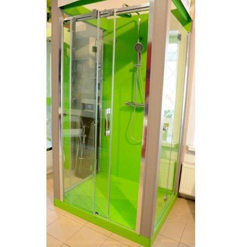 Radaway Espera DWJ drzwi prysznicowe przesuwane 160x200 cm 380116-01L lewe Rodzaj drzwi: przesuwane