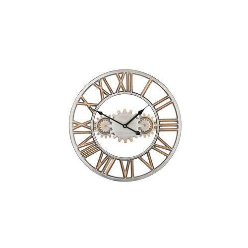 Zegar ścienny srebrny/złoty SEON (4251682200042)