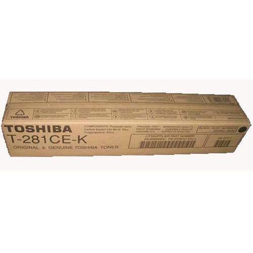 Toner t-281ce-k black do kopiarek toshiba (oryginalny) [27k] marki Toshiba