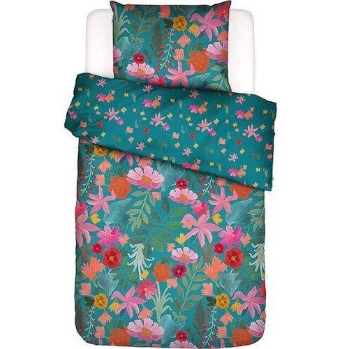 Pościel flower power 135 x 200 cm z poszewką na poduszkę 80 x 80 cm marki Covers & co