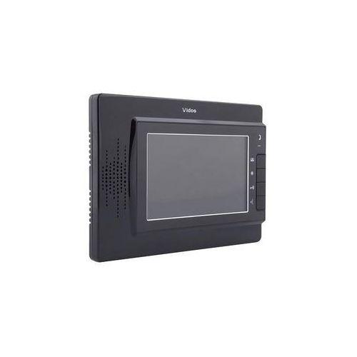 """Vidos monitor 7"""" m320 biały lub czarny: kolor monitora - czarny m320b - autoryzowany partner vidos, automatyczne rabaty."""