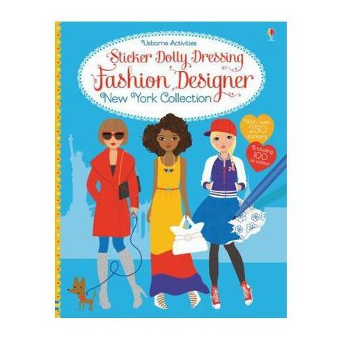 Sticker Dolly Dressing Fashion Designer New York Collection (9781409597322)