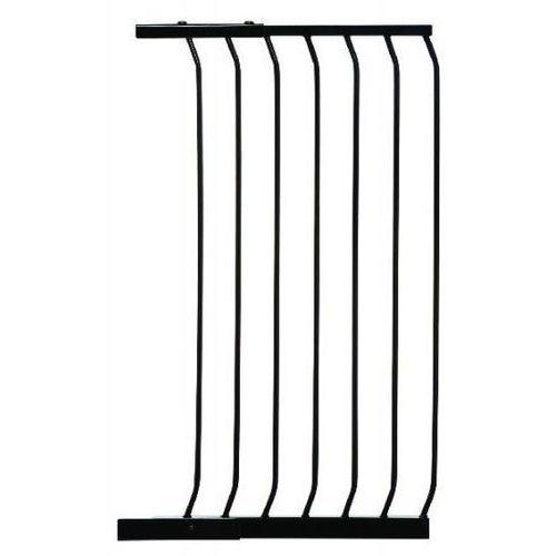 Rozszerzenie bramki zabezpieczającej pcr843b 54/100 cm czarny + darmowy transport! marki Dreambaby