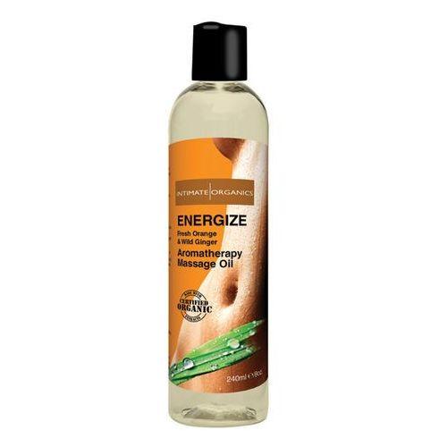 Olejek do masażu organiczny - Intimate Organics Energize Massage Oil 240 ml