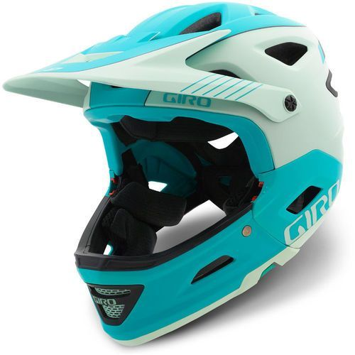 switchblade mips kask rowerowy niebieski/turkusowy l | 59-63cm 2018 kaski rowerowe marki Giro