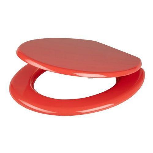 Deska WC MDF czerwona
