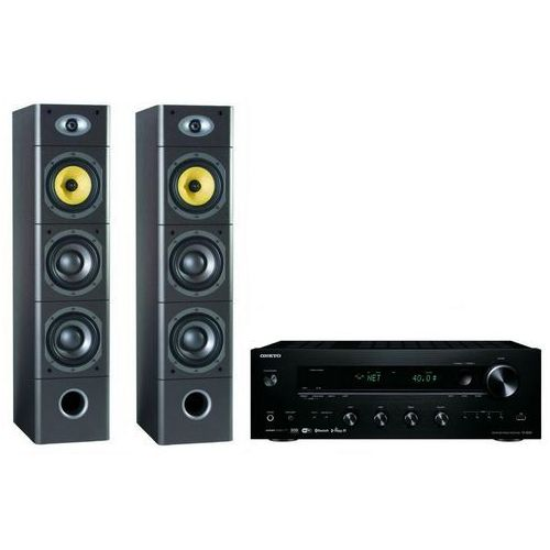 Kino domowe ONKYO TX-8250B + M-AUDIO HTS-900 F Czarny, TX-8250B/900 BLACK