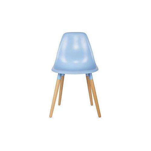 Woood zestaw krzeseł roef niebieskich (2 szt) 375811-p (8714713052080)