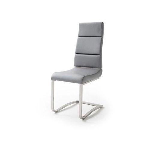 Fato luxmeble Krzesło vence ekoskóra szara