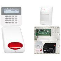 Satel set Zestaw alarmowy: płyta główna perfecta 16 + manipulator prf-lcd + 1x czujnik ruchu + akcesoria