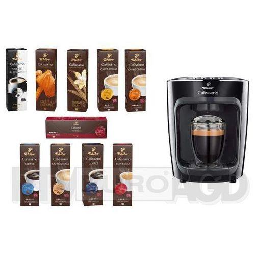 Tchibo zestaw 25 opakowań kawy + ekspres tchibo cafissimo mini (4061445036906)