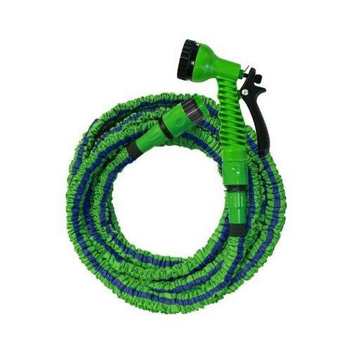 Wąż ogrodowy rozciągliwy 7.5 m do podlewania roślin ecoflex marki Jardibric