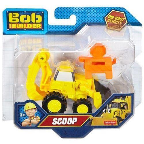 Fisher price bob budowniczy małe pojazdy - scoop koparka marki Mattel