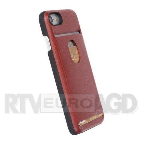 Krusell Timra WalletCover iPhone 7 (czerwony) - produkt z kategorii- Futerały i pokrowce do telefonów