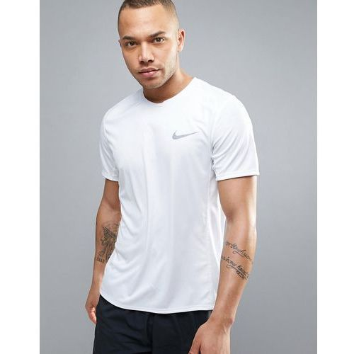 miler dri-fit t-shirt in white 833591-100 - white marki Nike running