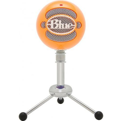 Blue microphones Bluemic snowball bright orange