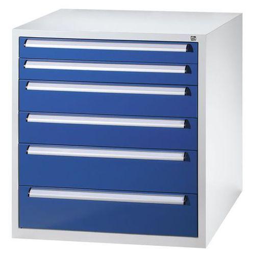 Szafka na narzędzia, szerokość 900 mm, wys. 1000 mm, szuflady 2x100, 2x150, 2x20