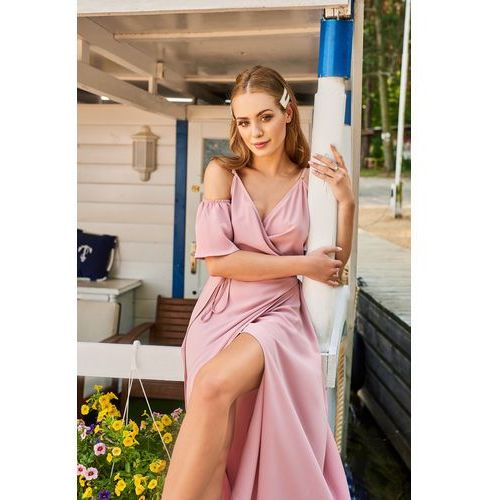 Sukienka Porto w kolorze różowym, kolor różowy