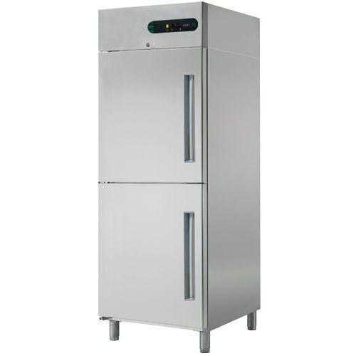 Szafa chłodnicza galwanizowana 2-drzwiowa, lewostronna, 700 l, 693x826x2008 mm   ASBER, ECP-G-702 L