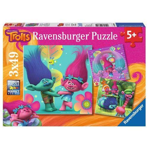 Ravensburger Puzzle 3x49 trolle (4005556093649)