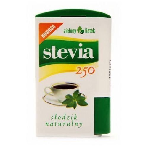 Zielony listek domos Stevia stewia słodzik tabletki pastylki 250szt - zielony listek (5901751001078)