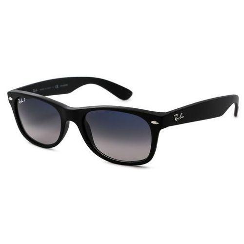 Ray-ban Okulary słoneczne rb2132f new wayfarer matte asian fit polarized 601s78