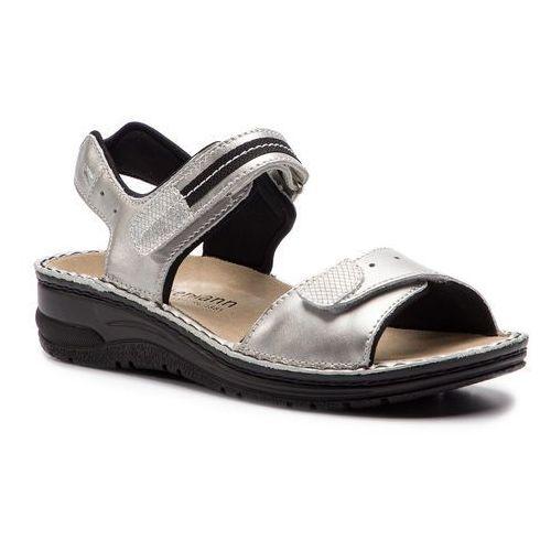 Sandały BERKEMANN - Leni 03102 Altsilber 162, kolor szary