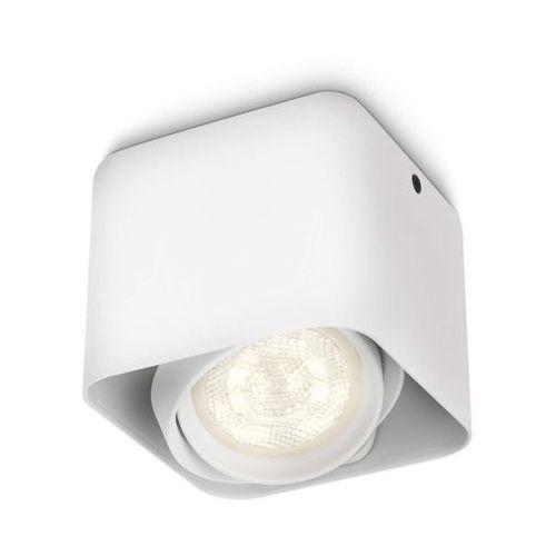 Afzelia Lampa ścienno-Sufitowa Biała LED 1X3W 230V, 53200/31/16