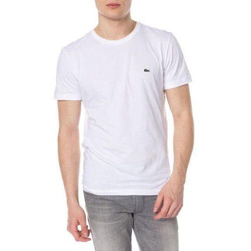 Lacoste Men's Basic Crew T-Shirt - White - L