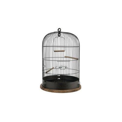 Zolux Klatka Retro Marthe śr. 45 dla ptaków kol. czarny Dostawa GRATIS od 99 zł + super okazje (3336021048613)