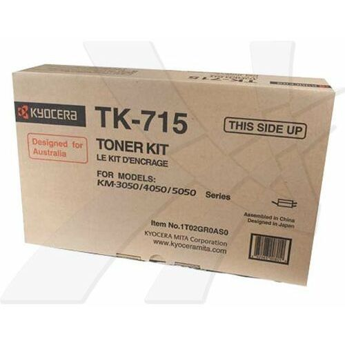 Kyocera Mita oryginalny toner TK715, black, 34000s, Kyocera Mita FS-3050, FS-4050, FS-5050