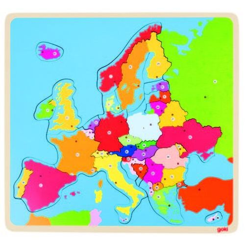 Goki Puzzle europa, 35 el.