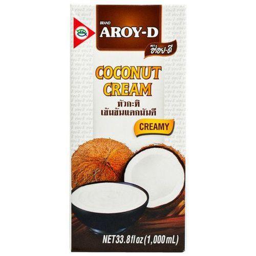 Krem kokosowy, śmietanka w kartonie 1l - marki Aroy-d