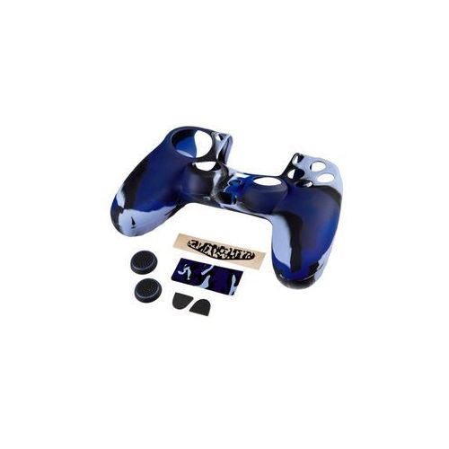 Hama Zestaw 7w1 blue camo do kontrolera dualshock 4 (4047443295002)
