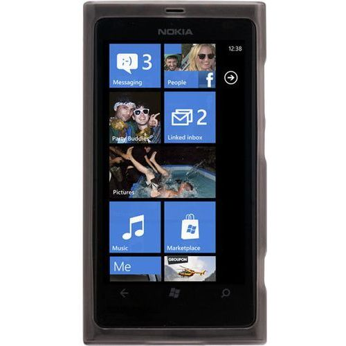 Pokrowiec CELLULAR LINE PREMIRECL800 (Nokia Lumia 800) Czarny (8018080153631)