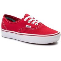 Tenisówki - comfycush authe vn0a3wm7vnf1 (classic) racing red/true, Vans, 35-46