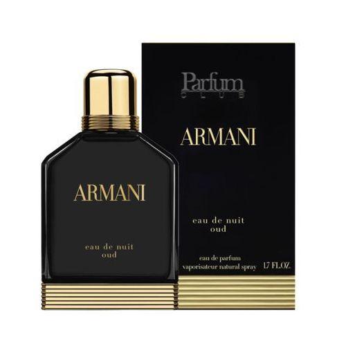 eau de nuit oud 100 ml woda perfumowana marki Armani