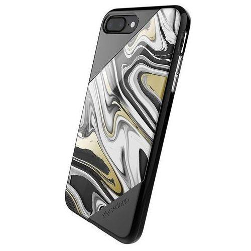 X-Doria Revel Lux - Etui iPhone 7 Plus (Black Swirl), kolor czarny