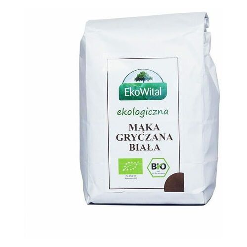Ekowital Mąka gryczana biała bio 500 g (5908249970960)