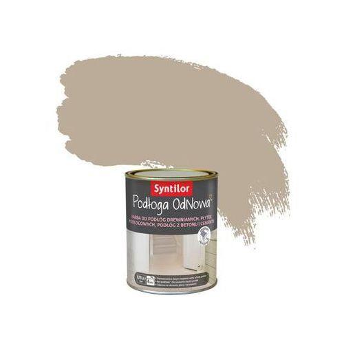 Farba do podłóg wewnętrznych podłoga odnowa kawa latte marki Syntilor