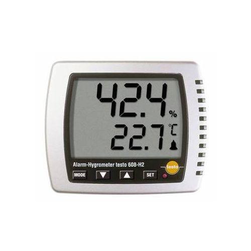 Termohigrometr z czujnikiem wewnętrznym NTC, wilgotnościomierz powietrza, TESTO 608-H2